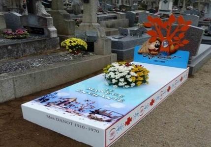 نمونه سنگ قبرهای بسیار زیبا در سال 2014 میلادی