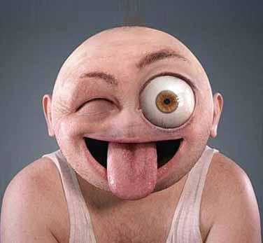 تبدیل شکلک های یاهو به چهره های انسانی! (عکس)