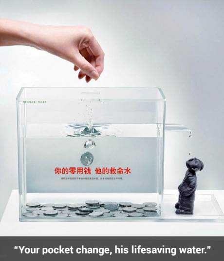 خلاقیت های بسیار جالب و متفکرانه در تبلیغات + عکس