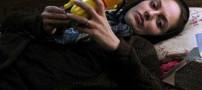 مهناز افشار در صحنه ای از سریال بیگانه + عکس