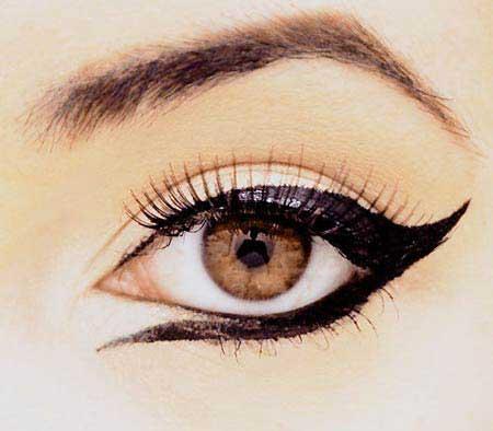 مدل خط چشم های بسیار زیبا ویژه نوروز 93 + عکس