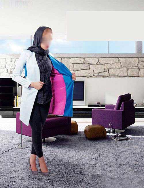 مدل مانتوهای شیک و زیبای مجلسی نوروز 93 (عکس)