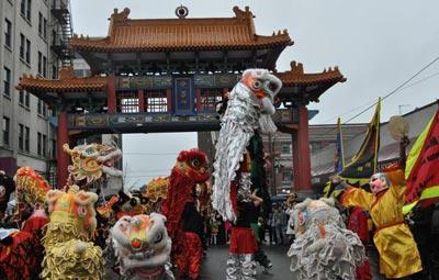 مراسم دیدنی و بسیار جالب عید چینی ها (عکس)