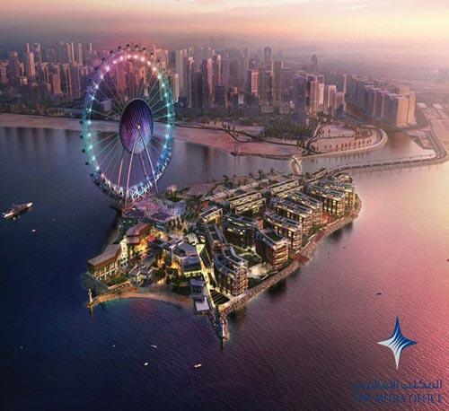 احداث چشم دبی در ساحل جمیرا (عکس)