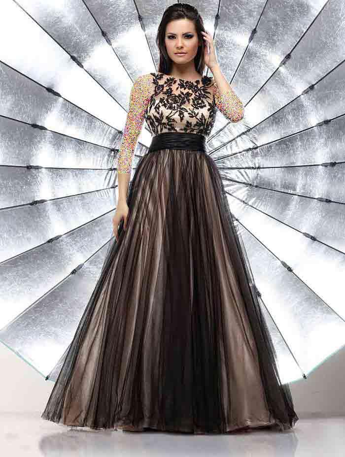 مدل های شیک و جدید لباس مجلسی 2014 (عکس)