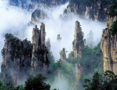 تصاویری از پسر آسمان بلند ترین کوهستان دنیا