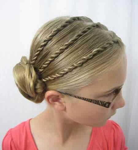 چند مدل موی دخترانه بسیار زیبا برای کودکان (عکس)