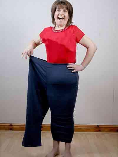این خانم 40 ساله نمیخواست چاق باشد!! (عکس)