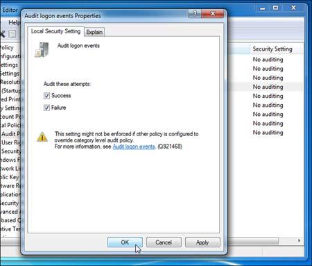 با این ترفند از ورود و زمان کاربران در ویندوز مطلع شوید