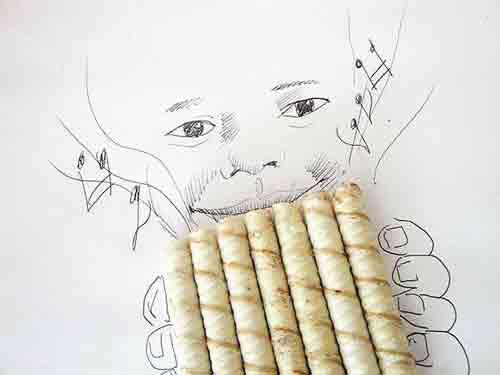 هنرمندی و خلاقیت این مرد با اشیای روزانه (عکس)