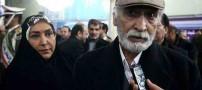 حجاب بازیگر در مراسم تجدید میثاق با آرمان های امام
