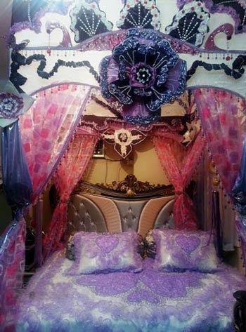 تا حالا اتاق خواب عروس های بلوچی رو دیدید؟ (عکس)