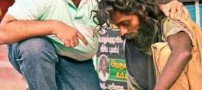 تصاویری از مرد خیری که سوپر من هند شناخته شد