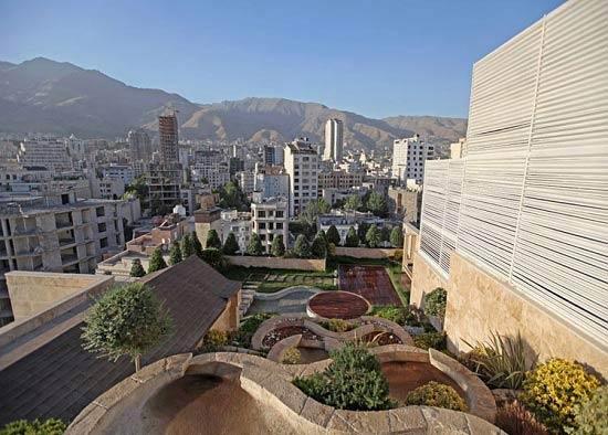 تصاویری از خانه های مدرن و شیک میلیاردرهای تهرانی