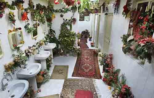 تصاویری از متفاوت ترین و باحال ترین wc در ایران