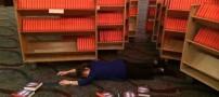 این خانم 900 کتاب را امضاء کرد و غش کرد! (عکس)