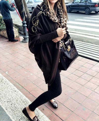 عکس دختر تهرانی با ساپورت