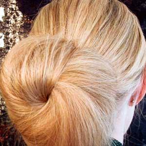 شینیون, مدل های مو,موهای بافته