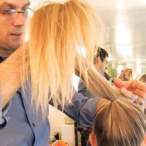 آموزش تصویری 3 مدل شینیون ساده برای موهای بلند