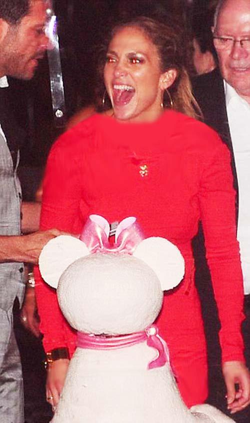 سوپرایز شدن جنیفر لوپز در روز تولدش! (عکس)