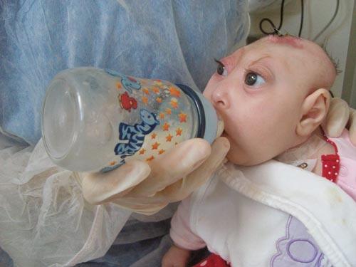 عکس نوزاد ترسناک