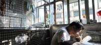 تصاویری تکان دهنده از فقر مردم و زندگی در قفس