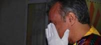 این دختر اشک عمو فتیله ای ها را در آورد! (عکس)