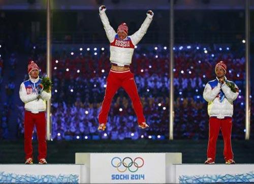 تصاویری جذاب از مراسم اختتامیه المپیک سوچی