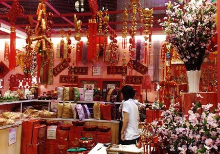 مدل جالب دکوراسیون چینی ها در سال نو (عکس)