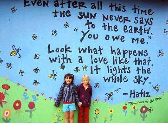 تفاوت دیوارهای مهد کودک در ایران با اروپا! (عکس)