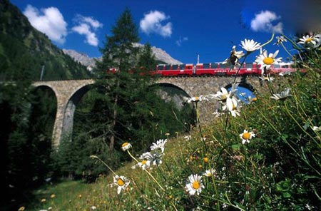 سفری دل انگیز به تونل بسیار زیبای عشق (عکس)