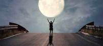 تصاویری بسیار جالب و جذاب از عکاسی با ماه