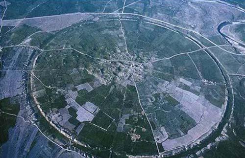 اولین شهر دایره ای شکل در ایران (عکس)