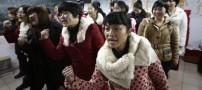 عکس هایی جالب و دیدنی از آموزش ماساژ چینی