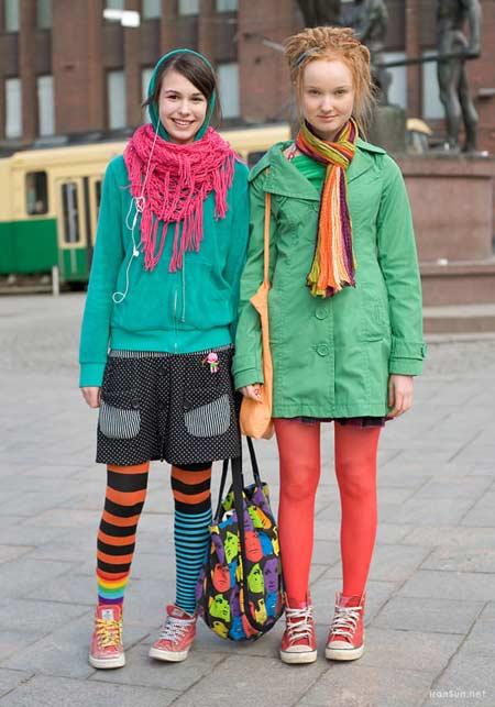 تیپ های خلاقانه از رهگذران در خیابان های فنلاند (عکس)