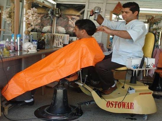 ابتکار بسیار جالب آرایشگر ایرانی (عکس)