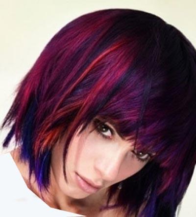 مدل موهای هایلات شده زیبا