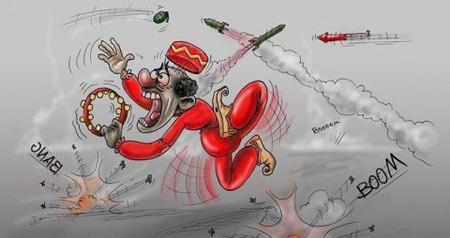 کاریکاتور های جالب چهارشنبه سوری