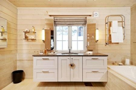 تصاویری از دکوراسیون خانه چوبی