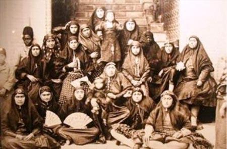 ناصرالدین شاه و 85 زن صیغه ای! (عکس)