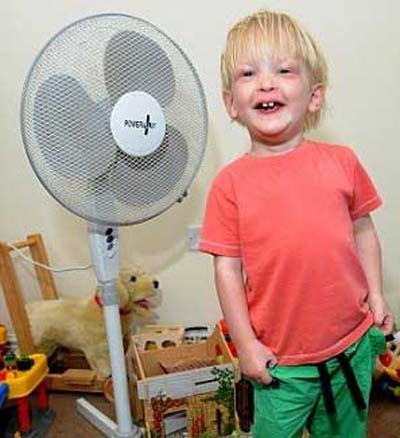 عجیب ترین و متفاوت ترین کودکان دنیا (عکس)