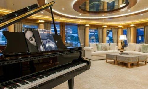 تصاویری جذاب از یک کشتی تفریحی لوکس