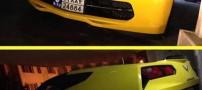 ورود اولین خودروی شورلت کوروت 2014 به ایران (عکس)