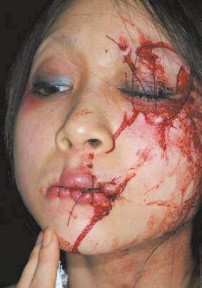 عمل دلخراش سعودی ها با این دختر (عکس)