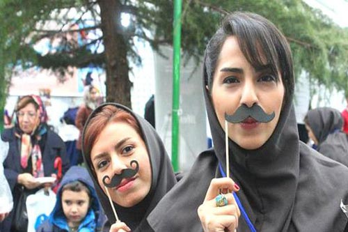 مسابقه جذاب سبیل در تهران (عکس)