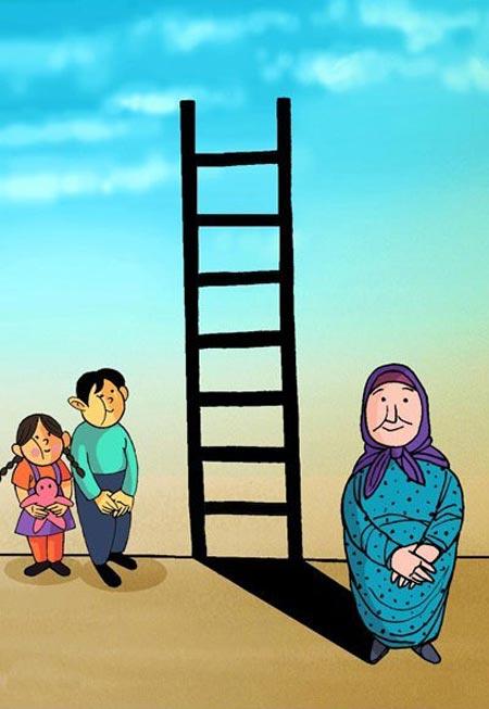 کاریکاتور های بامزه ویژه روز زن و مادر