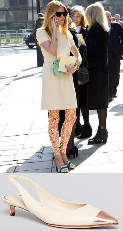انتخاب کفش بهاری به سلیقه هنرمندان هالیوودی (عکس)