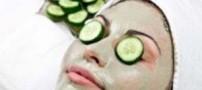نحوه تهیه ماسک خیار برای زیبایی پوست