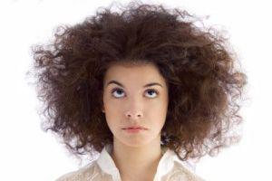 نحوه صاف کردن موها در خانه