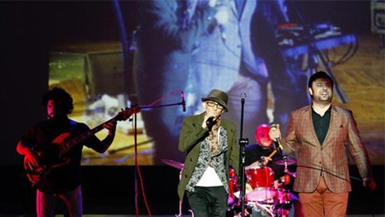 تصاویری دیدنی از کنسرت مشترک پاشایی و علیزاده